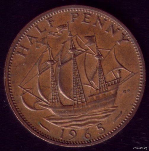Пол пенни 1965 год Великобритания