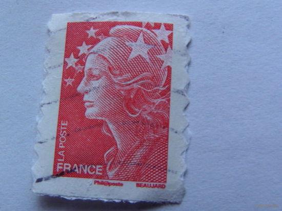 Франция марка красная   распродажа