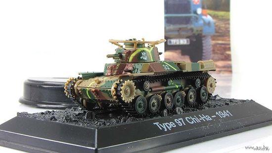 Type 97 Chi-Ha - 1941. Коллекция боевых машин. No 71. Польша.