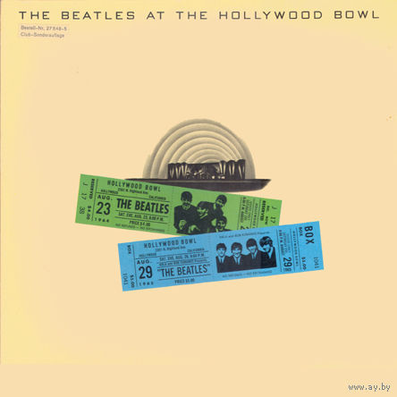 Beatles - The Beatles At The Hollywood Bowl - LP - 1977