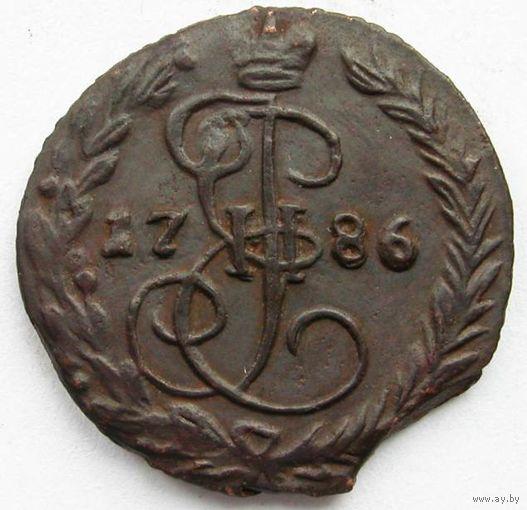 010 Деньга 1786 года. R