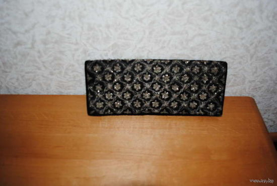 Дамская винтажная сумочка-производство Индия-как на вечер, можно и как клатч!