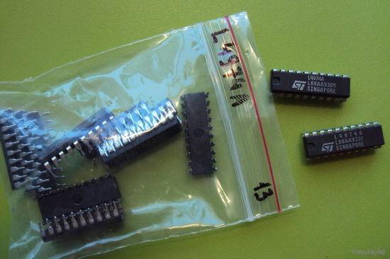 М/сх L4974A  импульсный (стабилизатор) преобразователь DC/DC напряжения 5,1-40V; 3,5A