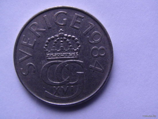 Швеция. 5 крон 1984г.   распродажа