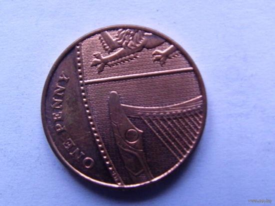 Великобритания, 1 пенни 2008 года   распродажа