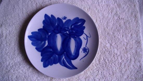 Тарелка с росписью на стену. распродажа