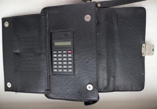 Барсетка мужская с калькулятором.