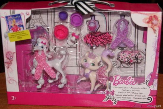 """Животные Барби/Barbie из мультфильма """"Барби: сказочная страна моды""""."""