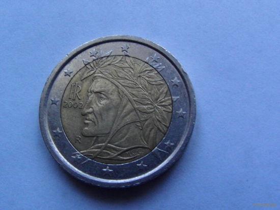 Италия 2 евро 2002г. распродажа
