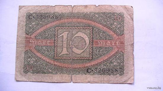 Германия 10 марок 1920 г. распродажа