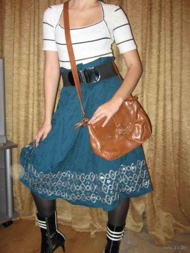Набор прогулочный (юбка и сумка)