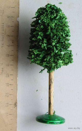 Дерево для ж-д макета производство ГДР вид 7