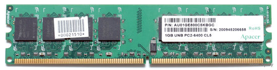 Модуль памяти DDR2 Apacher 1G PC-6400