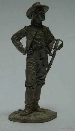 Офицер конфедератов.