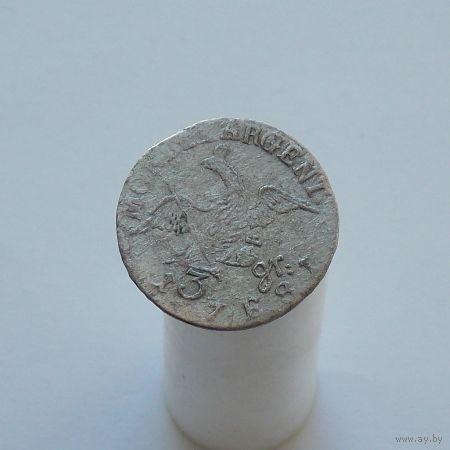 Пруссия 3 гроша 1781  Фридрих II Великий м.д.Кёнигсберг