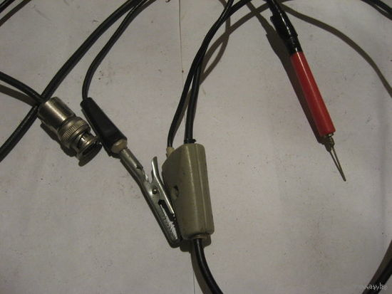 Щуп + шнур питания к осциллограф С1-76