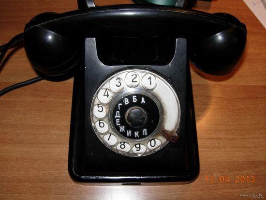Телефон VEF карболит, старинный