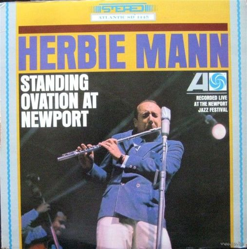 Herbie Mann - Standing Ovation At Newport - LP - 1966