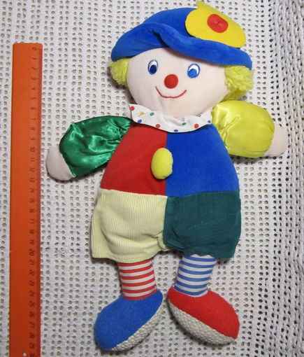 Клоун(большая игрушка-погремушка)-1