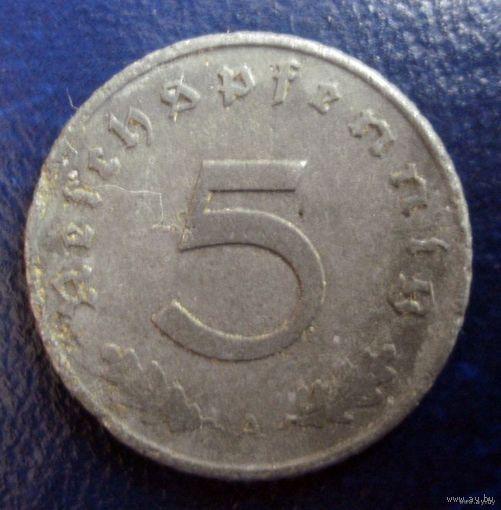 5 пфенингов 1940 (А)
