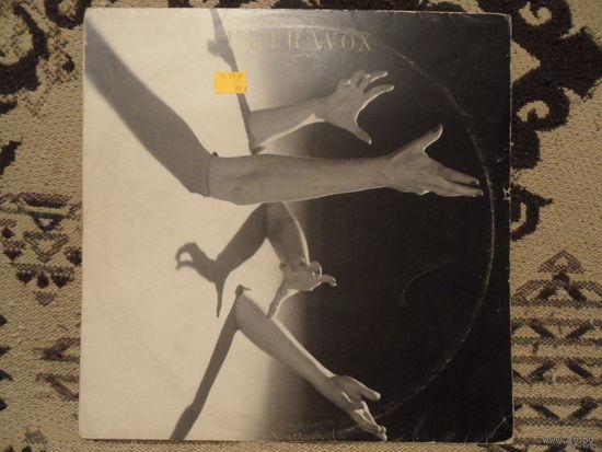 Конверт пластинки Ultravox. The thin wall