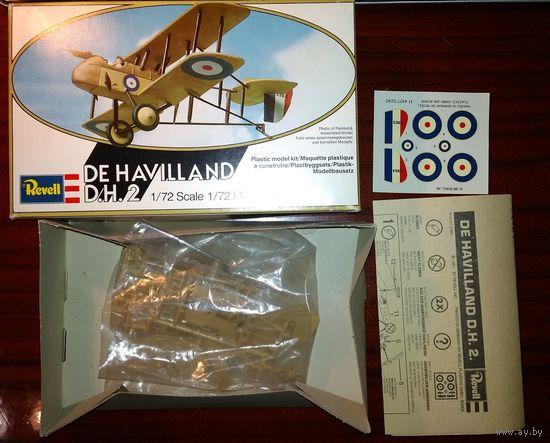 1/72 Revell De Haviland DH2 самолет Первой мировой войны