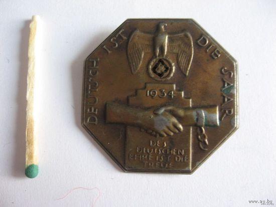 Значек Германия 1934г,