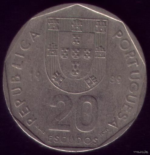 20 Эскудо 1989 год Португалия
