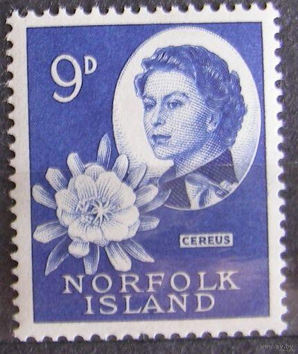 Британские колонии. Остров Норфолк 1953. Лот 2
