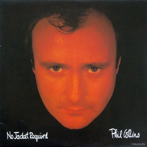 Phil Collins - No Jacket Required-1985,Vinyl, LP, Album,made in Canada.