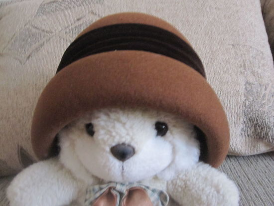 Шляпка теплая