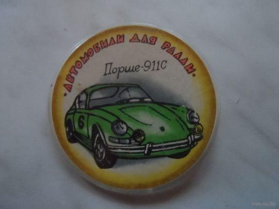 Значок Порше-911С