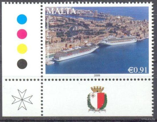 Мальта горы корабли герб