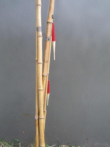 Удочки бамбуковые.СССР