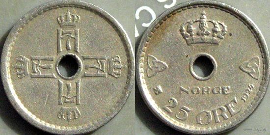 Норвенияия, 25 оре 1924