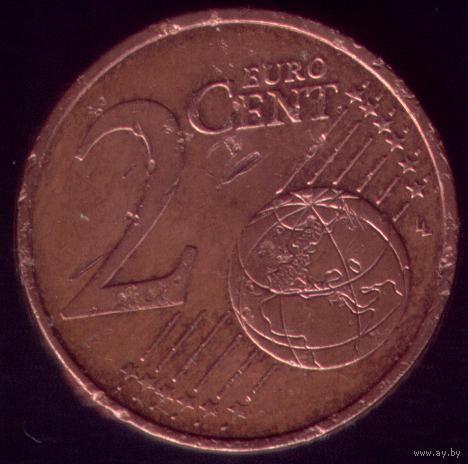 2 евроцента 2000 год Франция
