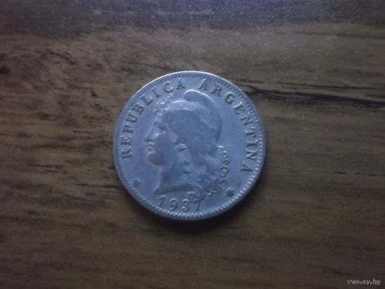 Аргентина 20 центавос 1937