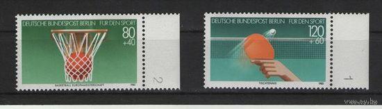 Западный Берлин 1985г. Mi N 732-733** Спорт