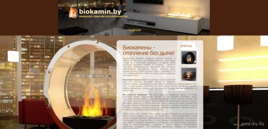 Домен biokamin.by.  Доменному имени более 10 лет!
