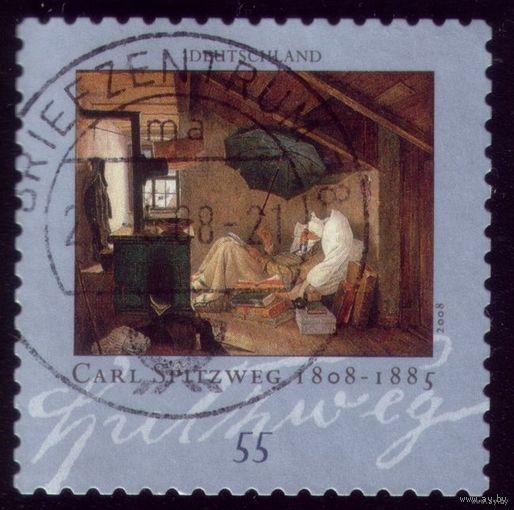 1 марка 2008 год Германия Живопись