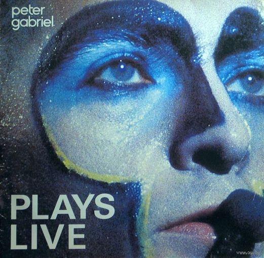 Peter Gabriel - Plays Live-1983, 2 x Vinyl, LP, Album,Made in Canada.