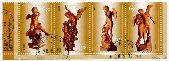 Эстония 2005. Скульптуры Амандуса Адамсона