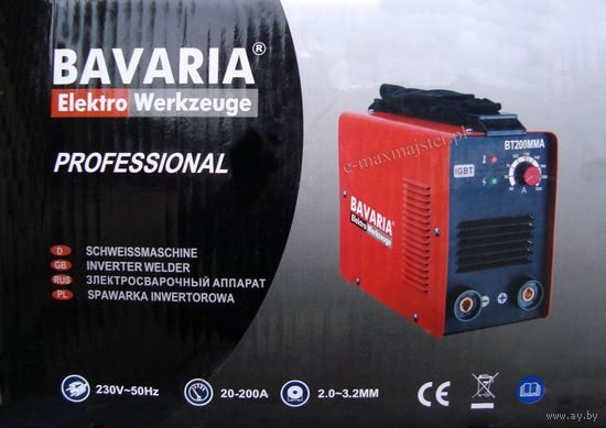 Сварочный аппарат инвертор BAVARIA 200A
