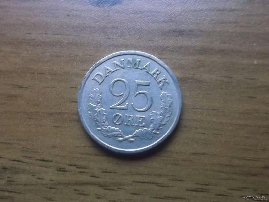 Дания 25 эре 1961