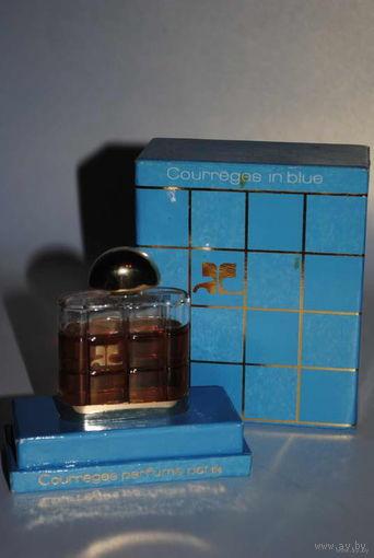 Редкая парфюмерия для Дам_ДУХИ_Courreges in blue_PARIS_Сохран 100%_Подленника_1983_года _Непревзойдённо стойкий аромат на все 100%_Голубой Кураж от Кураж (Courreges in Blue от Courreges)_духи 14мл.!