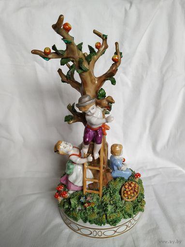 """Интерьерная скульптура """"Дети в саду"""". Schierholz. Германия"""