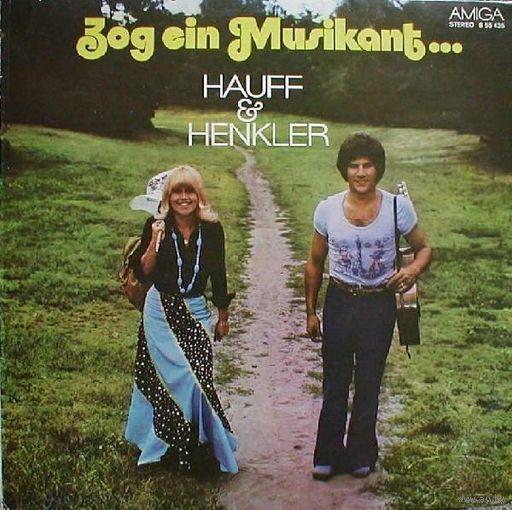 LP Monika Hauff & Klaus-Dieter Henkler - Zog Ein Musikant...  (1975)