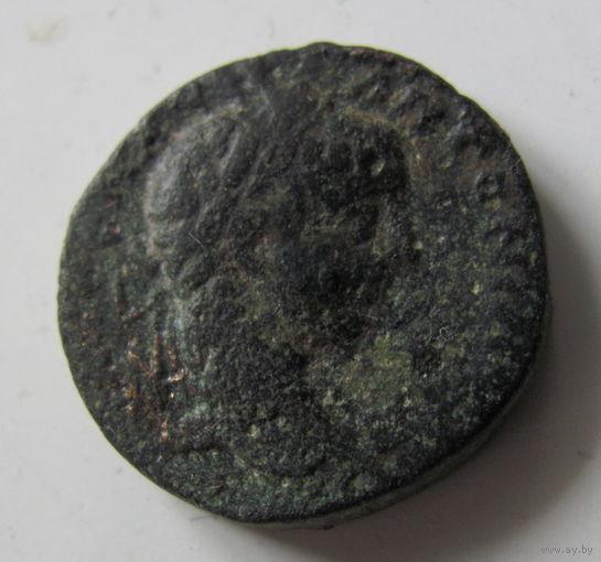 Провинциальная римская монета Сирия время имп. Гордиана.