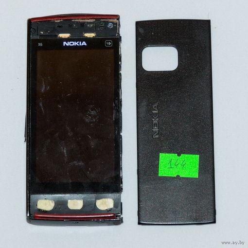144 Nokia X6-00 (RM-559). По запчастям, разборка
