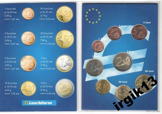 Кипр 2008 UNC в буклете.